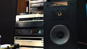 theater research home theater system acoustic research ar 8bx speakers first test after