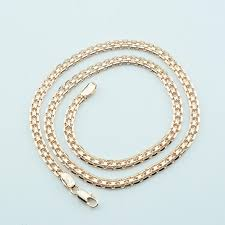 gold colored chain necklace images Fj new 5mm men women 585 gold color chains carve twisted hot jpg