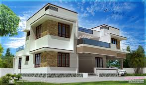 Small Contemporary House Plans Modern Contemporary House Mix Luxury Home Design Kerala Home