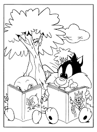 looney tunes coloring pages coloringpages1001 com