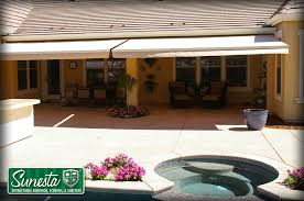 Awning Sunbrella Retractable Deck Awnings U0026 Retractable Deck Canopies