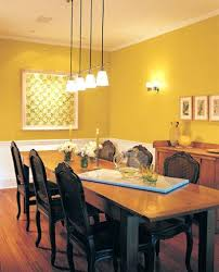 dining room paint colors blue with dark furniture wood trim