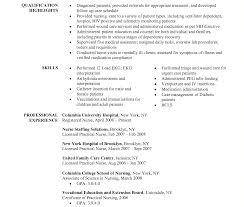 best resumes exles new grad rn resume template best sleursing exles