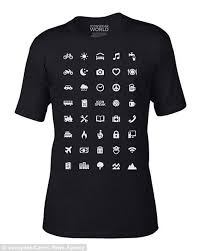 Colorado travel symbols images Iconspeak 39 st shirt allows travellers to communicate using 39 jpg