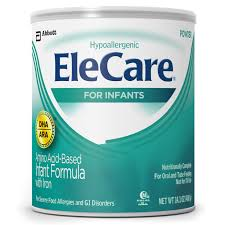 elecare for infants amino acid based infant formula with iron and