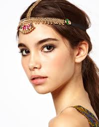 hair accessories online india european style hair jewelry metal flowers hairband band