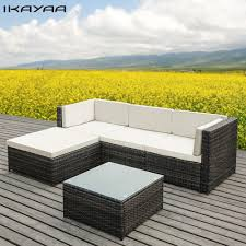 Patio Sectional Furniture - online get cheap rattan sectional furniture aliexpress com