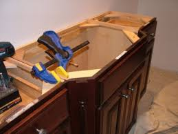 How To Install A Bathroom Vanity Bathroom Vanity Cabinets Ask The Builderask The Builder