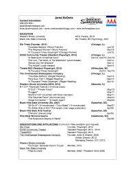Resume Affiliations Writing Resume Jared Mcdaris