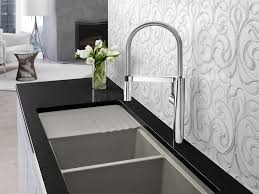 High End Kitchen Faucet Kitchen Sink High End Single Handle Jade Polished Brass Modern
