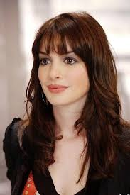 the hairstyle of the devil best 25 anne hathaway bangs ideas on pinterest anne hathaway