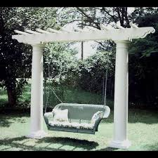 arbor swing plans pergola swing set home design styles