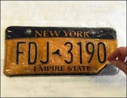 Ct Vanity License Plate Lookup Peeling License Plates New York State Of Opportunity Department
