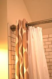 Spring Tension Curtain Rods Curtain Tension Rods Walmart Home Design Ideas