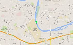 Csus Map Police Death Of Woman Found In American River Possible Homicide