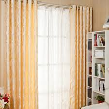 Orange Patterned Curtains Patterned Curtains And Drapes Presented In Modern Style
