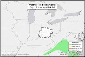 Wilmington Ohio Map by Nws Iln Briefing