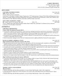Hedge Fund Resume Sample by Basic Business Resume Templates 24 Free Word Pdf Documents