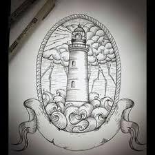 Lighthouse Tattoo Ideas Lighthouse On Behance Chicano Tattoos Pinterest Lighthouse