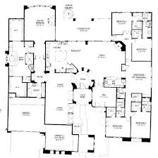 5 bedroom house plans 1 story inspirational 5 bedroom house plan one story homeblend