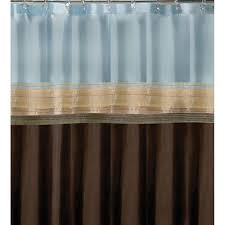 Teal And Brown Shower Curtain Brown Shower Curtains Design Home Design Ideas