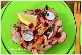 recettes laurent mariotte cuisine tv salade de maquereaux fumés laurent mariotte recettes laurent