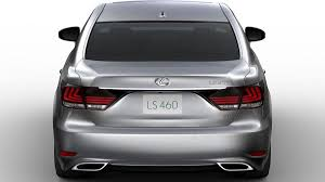 lexus ls 460 sedan redesigned 2013 lexus ls offers new sheetmetal safety features