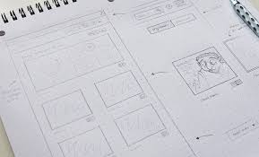 custom grid design for structured website mockups