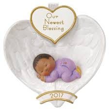 african american baby u0027s first christmas ornament keepsake
