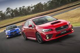 sti subaru red subaru cars news 2015 wrx sti pricing and specification