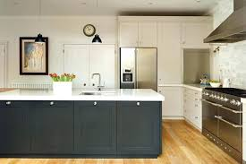 awesome two tone grey kitchen cabinets designing inspiration