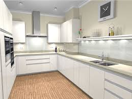 Closed Kitchen U Shaped Kitchen Designs White High Gloss Google Search