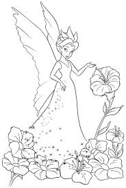 coloring pages tinkerbell friends coloring pages