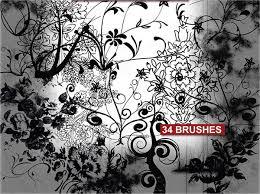 9 ornament brushes abr format free premium templates