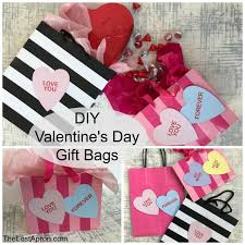 diy valentine s gifts for friends diy valentine s day gift bags the lost apron
