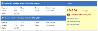 flight review flying qatar airways during the ba strike