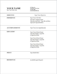 How To Make A Job Application Resume by How To Form A Resume Template Billybullock Us