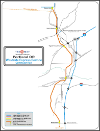 Seattle Link Rail Map Railfan Guides Of The U S