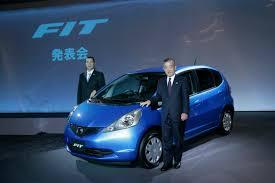 small car honda fit photos new honda fit jazz named japan car of the year 2008