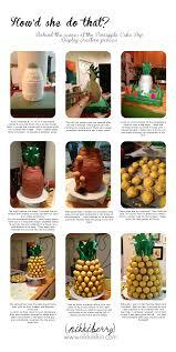 Paper Pineapple Decorations Pineapple Cake Pop Display