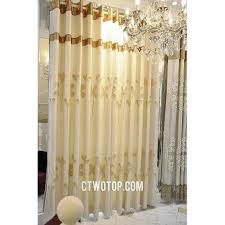 casual and discount beige embossed bedroom linen curtains with