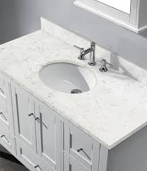 48 Inch Bathroom Vanity White 48 Inch Bathroom Vanity With Top And Sink One Intended For In