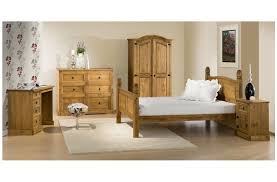 Corona Mexican Pine Bedroom Furniture Corona Mexican Bedroom Collection In Antique Wax