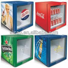 small beer fridge glass door 93 litres stainless steel frame glass door display fridge cake