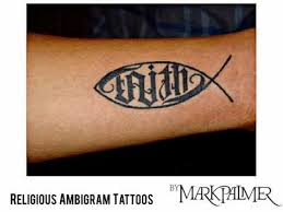 religious ambigram tattoos youtube