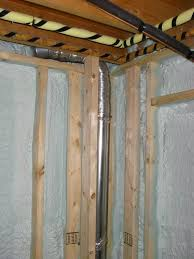 How To Insulate Basement Walls by Plumbing Can I Move My Washer And Dryer 10 Feet To The Right