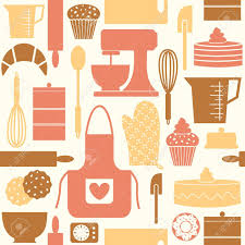 pattern seamless seamless pattern kitchen baking bake cook