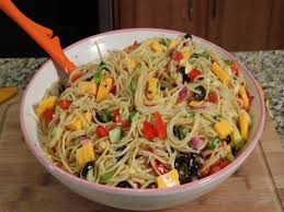 Simple Pasta Salad Recipe Spaghetti Salad Salads U0026 Slaws Youtube