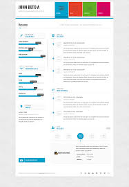 resume html template page one responsive vcard resume html template by wpamanuke