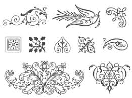 free ornaments vector graphics